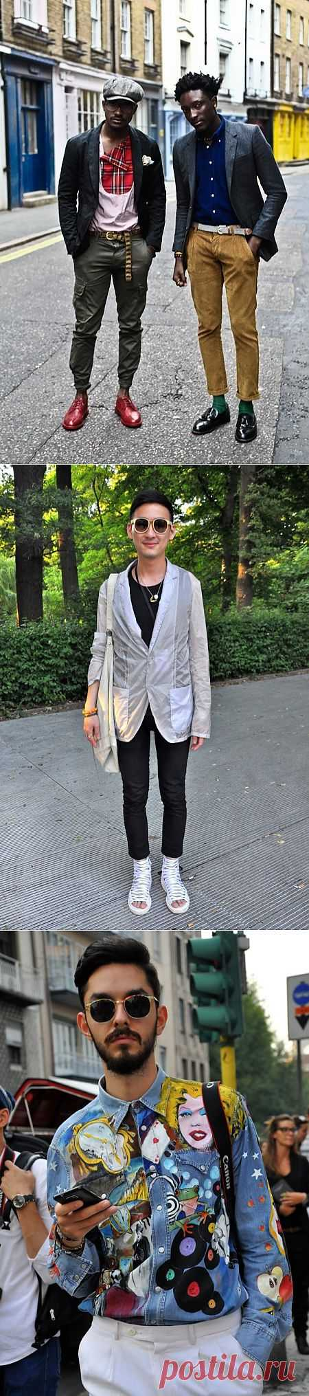 Men streetstyle (трафик) / Street Style / Модный сайт о стильной переделке одежды и интерьера