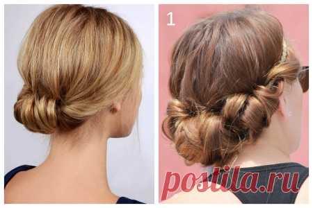 Красивые, легкие и простые прически на средние волосы на каждый день своими руками