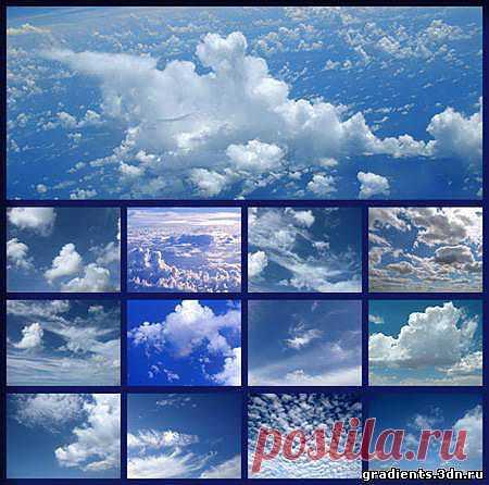 Фоны для фотошопа - Небо, Облака, скачать бесплатно Фоны для фотошопа - Небо, Облака без регистрации