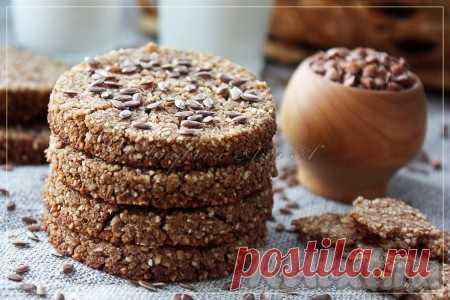 Печенье/хлебцы из гречки (на 10 шт.) - 9 пошаговых фото в рецепте