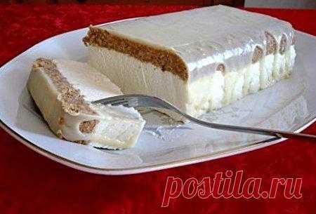 Торт с белым шоколадом и лимоном.