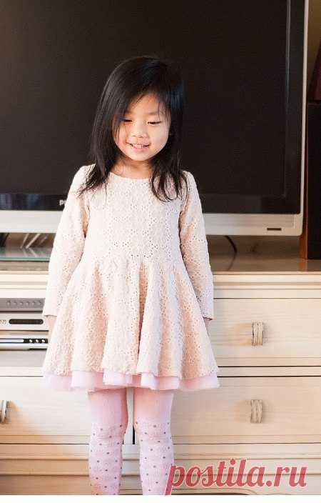 Выкройка платья на рост 140 Модная одежда и дизайн интерьера своими руками