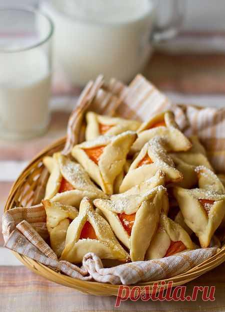 Песочное абрикосовое печенье   Вкусный блог - рецепты под настроение