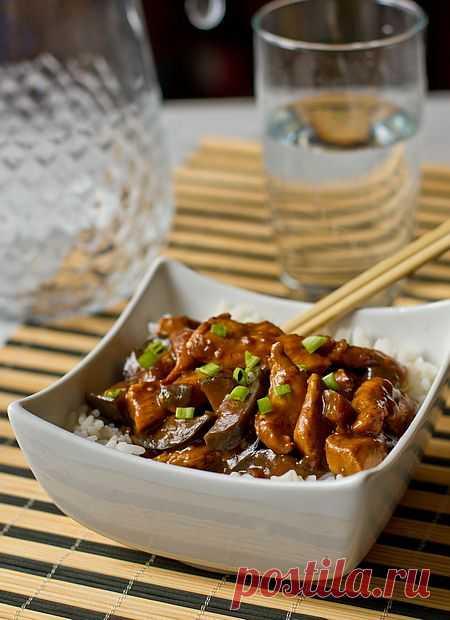 Курица с баклажанами по-китайски | Вкусный блог - рецепты под настроение