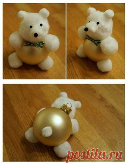 El juguete del árbol de Noel por las manos a la competición en la escuela y el jardín de infancia: la instrucción Poshagovaya del juguete del árbol de Noel al niño del papel, el algodón, el fieltro