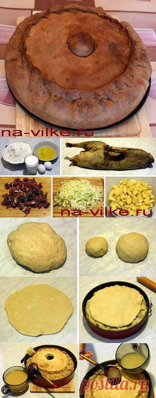 Зур-бэлиш (2) - мясной пирог с бульоном