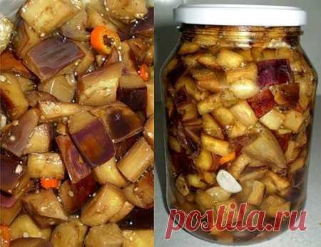 Баклажаны консервированные рецепты на зиму