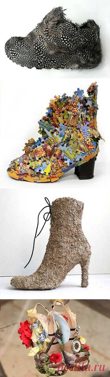 креативные туфли (Юлия wolfj) / Обувь / Модный сайт о стильной переделке одежды и интерьера
