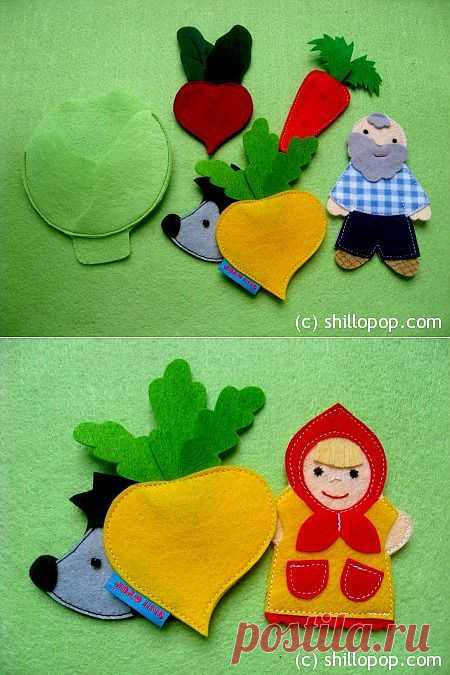 Развивающие игрушки от Shill O'POP » Страшный Пых