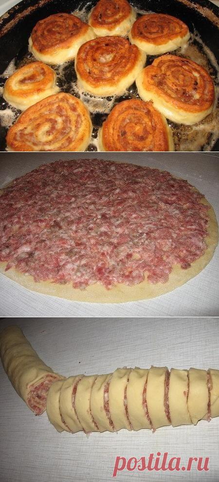 Как приготовить шанежки с мясом! - рецепт, ингредиенты и фотографии