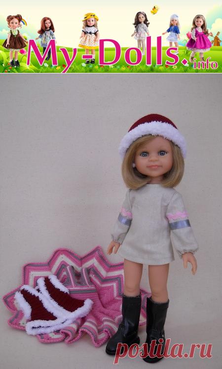 Шитьё и вязание одежды для кукол Паола Рейна своими руками