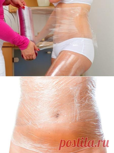 Как убрать жир на животе при помощи пищевой пленки за 2 недели | Похудение и стройная фигура | Яндекс Дзен