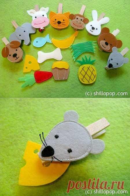 Развивающие игрушки от Shill O'POP » Кто что ест