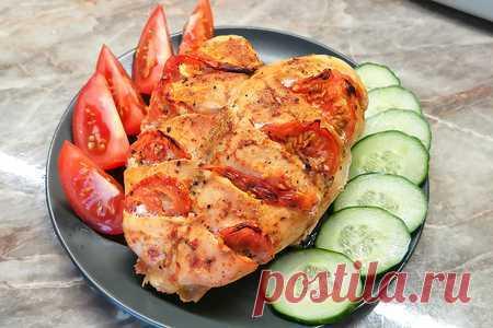 Куриная грудка в духовке | Вкусные кулинарные рецепты