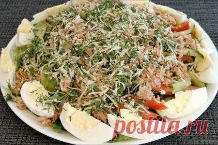 Салат с тунцом | Вкусные кулинарные рецепты