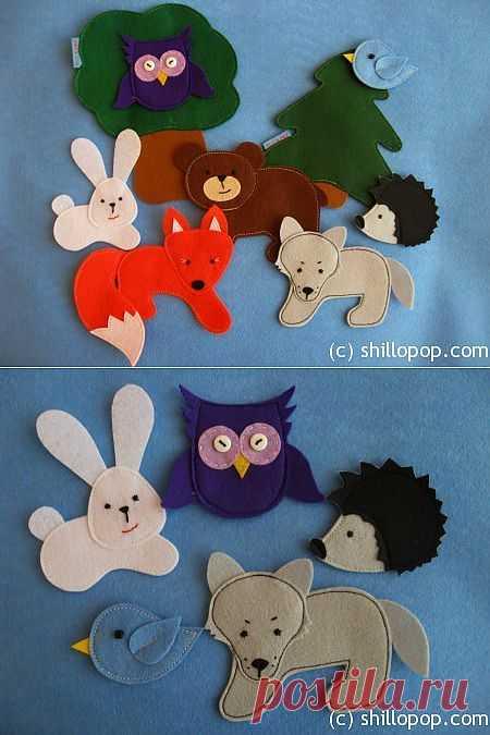 Развивающие игрушки от Shill O'POP » Дикие животные