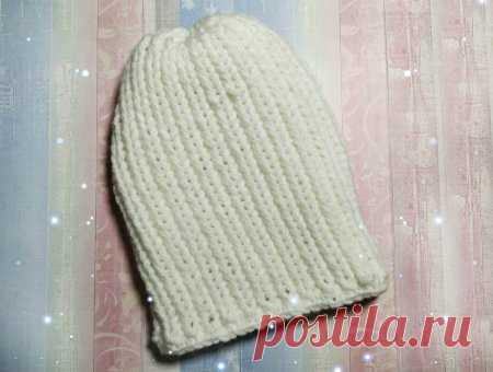 Холодными вечерами вяжем теплую шапку на зиму » «Хомяк55» - всё о вязании спицами и крючком