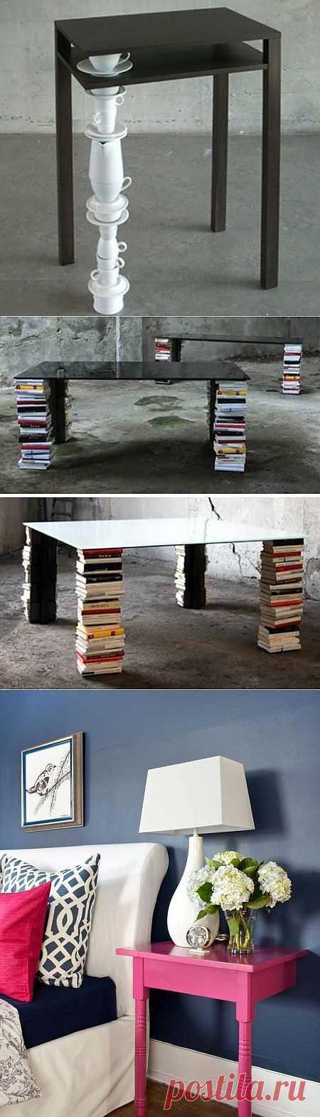 Ремонт столов (подборка) / Мебель / Модный сайт о стильной переделке одежды и интерьера