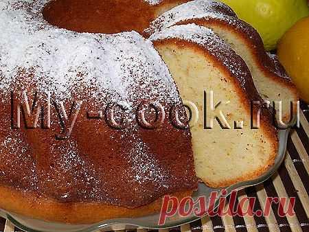 Творожный кекс «Лимонный» - 10 Февраля 2013 - Готовим дома. Кулинария. Рецепты. Салаты.