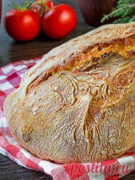 Рецепт пятиминутного хлеба без вымешивания на Вкусном Блоге