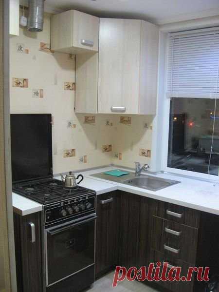 «Угловой дизайн маленькой кухни» — карточка пользователя олеся к. в Яндекс.Коллекциях