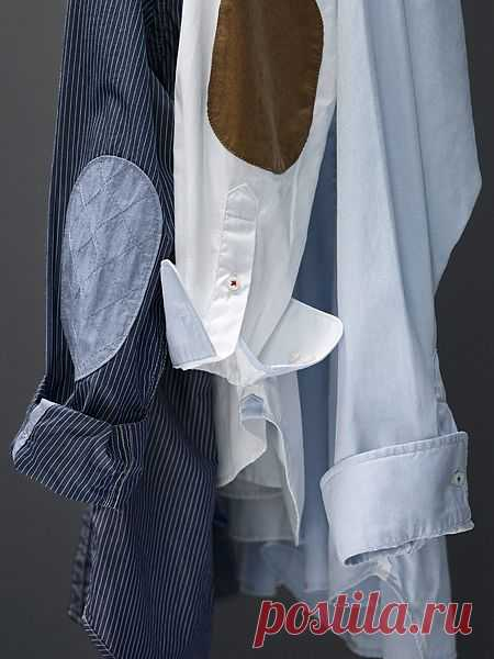 Заплатки) / Рубашки / Модный сайт о стильной переделке одежды и интерьера