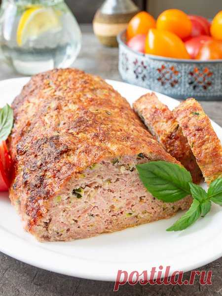Рецепт мясной буханки с кабачком 🔥 на Вкусном Блоге
