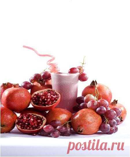 Гранатовый сок. Гранатовая диета