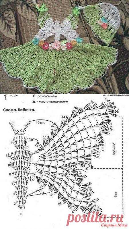 Сарафан-бабочка.