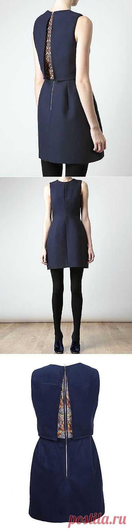 Внезапно / Декор спины / Модный сайт о стильной переделке одежды и интерьера