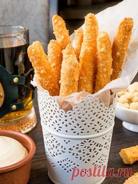 Рецепт сырного хвороста к пиву на Вкусном Блоге