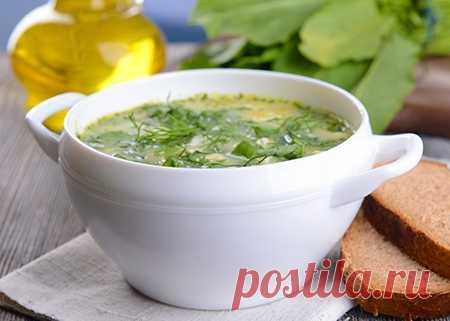 Зеленый веганский суп с имбирем