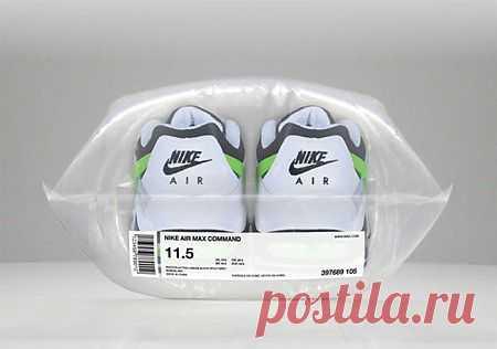 Компания Nike упаковала свои кроссовки в воздушную подушку 08.07.2013 | Новости бизнеса
