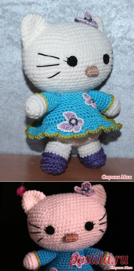 . Hello Kitty крючком - Вязание - Страна Мам