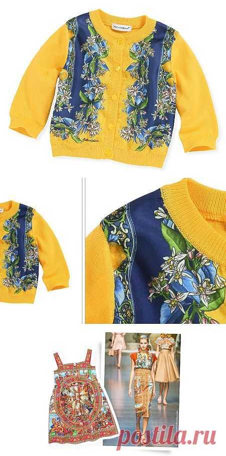 Малышня в платках (подборка) / Для детей / Модный сайт о стильной переделке одежды и интерьера