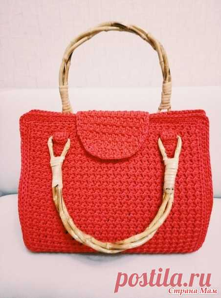 34661c0e63b8 Женская сумка крючком - Вязание - Страна Мам | Сумки | Постила