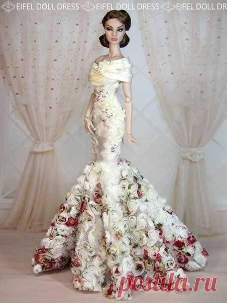 674bb231ead Роскошные платья для Барби. Идеи   Модное Настроение