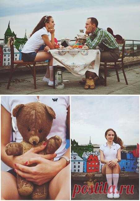 Малыш и Карлсон: love-story Елены и Максима - WeddyWood
