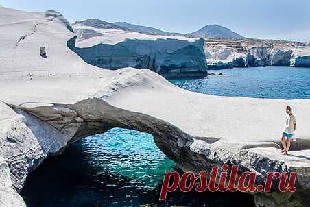 Путешествие по острову Милос