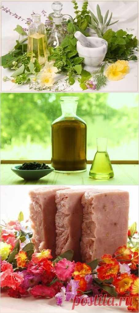Рецепт целебного мыла из трав своими руками (с добавлением лечебных трав).
