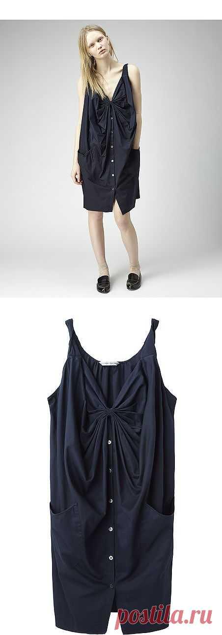 Платье с драпировкой / Детали / Модный сайт о стильной переделке одежды и интерьера