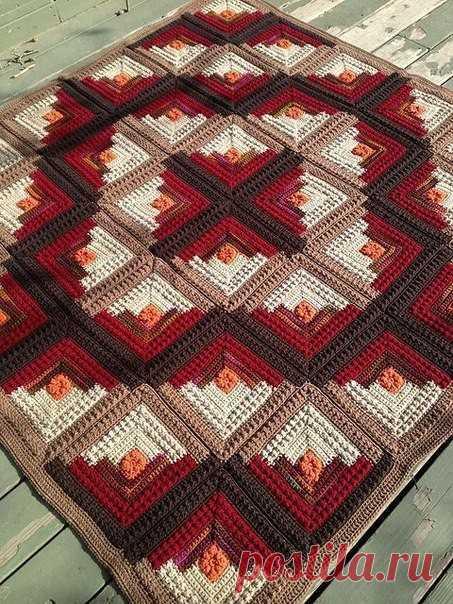 Blanket Amazing - бесплатное учебное пособие - Вязание крючком
