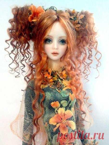 Куклы от Milana Shupa-Dubrova