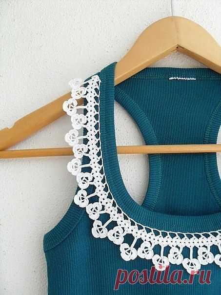 Декор майки / Декор / Модный сайт о стильной переделке одежды и интерьера