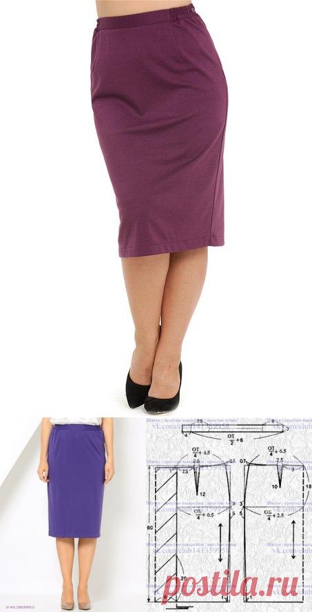 La costura | los patrones simples | las cosas simples. La falda ...