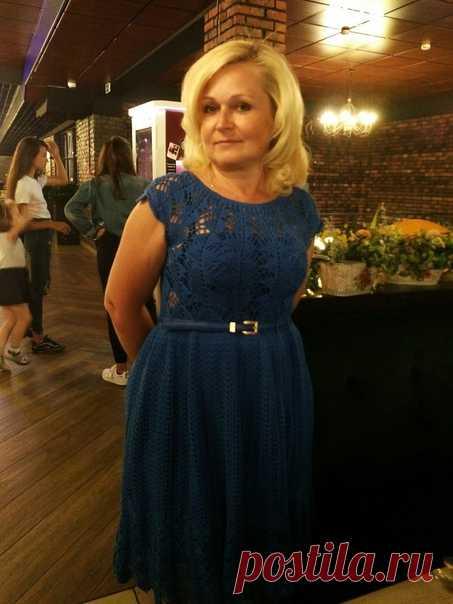 Платье крючком по мотивам Кайли Миноуг — Сделай сам, идеи для творчества - DIY Ideas