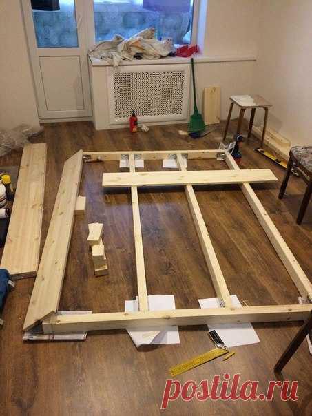 Кровать. #DIY_Идеи