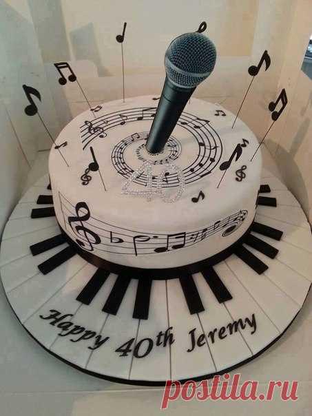 Шикарный торт для музыканта