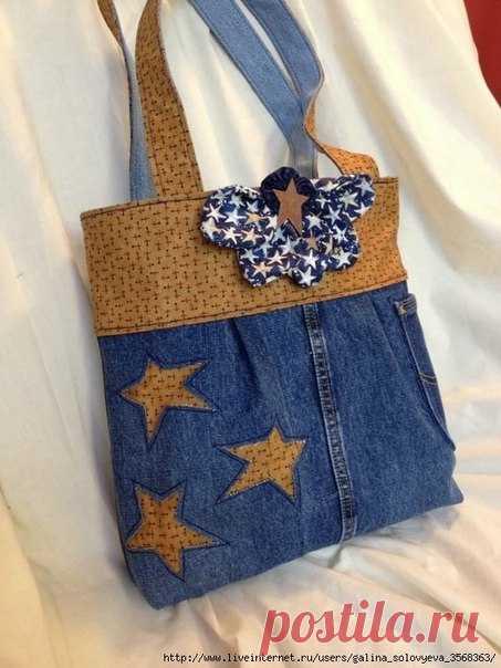 712a0f2ba978 Шьем джинсовые сумочки. Идеи для вдохновения. | Аксессуары своими ...