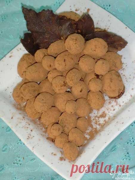 Трюфели из винограда в шоколаде